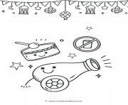 celebration du ramadan dessin à colorier