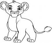 tiifu lion dessin à colorier