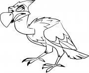 mwoga vulture dessin à colorier