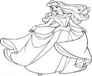 la belle au bois dormant princesse 19 dessin à colorier