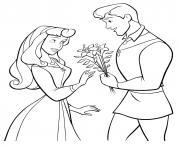 la belle au bois dormant princesse 279 dessin à colorier