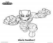 Black Panther Marvel Super Heros dessin à colorier