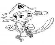 pirate garcon jake dessin à colorier