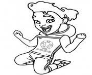 euro 2020 2021 mascotte skillzy dessin à colorier