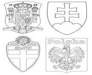 groupe e espagne suede pologne slovaquie dessin à colorier