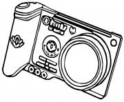 appareil photo pokemon snap dessin à colorier