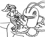 germignon pokemon snap dessin à colorier