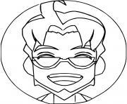 professeur chen pokemon snap dessin à colorier