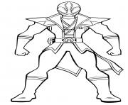 power rangers ninja storm dessin à colorier
