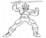 power rangers ninja steel dessin à colorier