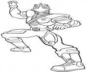power rangers rpm force dessin à colorier