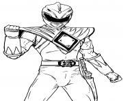 power rangers beast morphers dessin à colorier