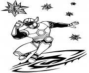 power rangers super energy dessin à colorier