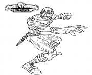 power rangers spd force dessin à colorier