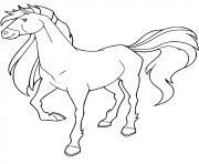 tango cheval de fred trackhener horseland dessin à colorier