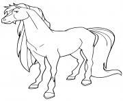 tango cheval de fred horseland dessin à colorier
