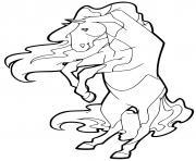 cheval horseland dessin à colorier