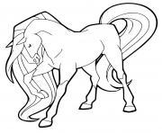 chili cheval de chloe warmbloods hollandais gris horseland dessin à colorier