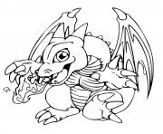 pokemon dracaufeu tpye feu vol dessin à colorier