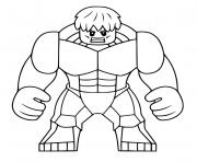 Coloriage hulk avengers endgame dessin