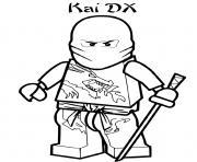 Coloriage power rangers ninja dessin