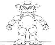 Coloriage balloon boy phantom five nights at freddys fnaf coloring pages dessin