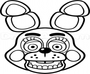 Coloriage family five nights at freddys fnaf 2 coloring pages dessin