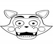 Coloriage fnaf springtrap dessin