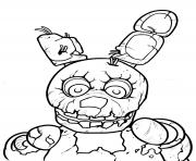 Coloriage Freddy Fazbear FNAF dessin