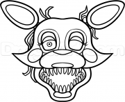 Coloriage Withered Balloon Boy FNAF dessin