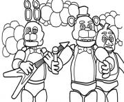 Coloriage freddy s at five nights 2 fnaf coloring pages dessin