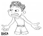 alberto scorfano luca disney pixar dessin à colorier