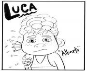 alberto luca disney dessin à colorier