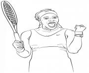 Coloriage lapins cretins detruisent un filet de tennis dessin