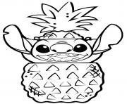Coloriage stitch bataille amateur dessin