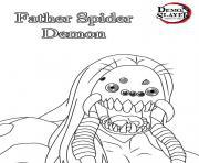 Coloriage Demon Slayer demon slayer dessin