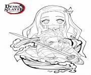 demon slayer kimetsu no yaiba demon slayer dessin à colorier