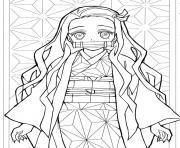 Coloriage Kanae Kocho Kimetsu no Yaib dessin