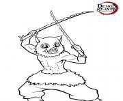 Coloriage Chibi Nezuko demon slayer dessin