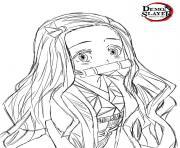 Coloriage Aoi Kanzaki Kimetsu no Yaib dessin