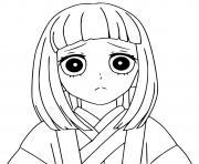 Coloriage Tanjiro Kamado demon slayer dessin