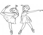 Coloriage danseuse paris tour eiffel dessin