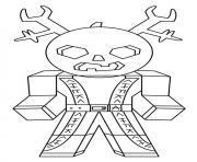 roblox samourai dessin à colorier