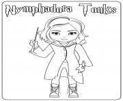 Nymphadora Tonks dessin à colorier