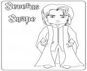 Severus Snape dessin à colorier
