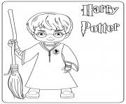 Harry Potter dessin à colorier