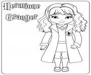 Hermione Granger dessin à colorier