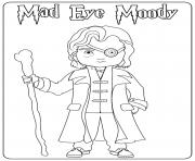 Mad Eye Moody dessin à colorier