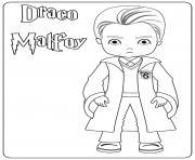 Draco Malfoy dessin à colorier