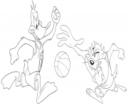 Coloriage Tune Squad from Space Jam 2 dessin